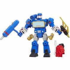 Transformers Hero Mashers Soundwave Figure, Multicolor