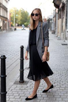 black - grey - caramel | fashionmugging