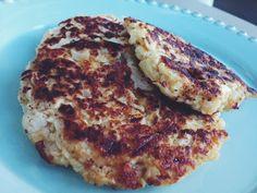 cauliflower fritter (no flour!)