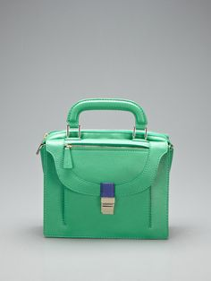Leon Small Convertible Satchel by Botkier - such subtle colorblocking!