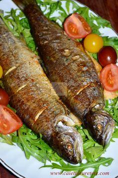 Tuna Recipes, Seafood Recipes, Vegan Recipes, Cooking Recipes, How To Cook Fish, Romanian Food, Fish And Seafood, Soul Food, Casserole Recipes