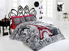Like the bed and bedding, not so much the color scheme. Bedroom Decor Ideas and Designs: Top Ten Paris Themed Bedding Sets Paris Themed Bedroom Decor, Paris Themed Bedding, Paris Bedding, Paris Room Decor, Paris Rooms, Paris Bedroom, Duvet Bedding, Bedroom Themes, Bedroom Sets