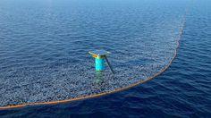 Ocean Cleanup Foundation startet mit erstem Prototyp auf See historisches Projekt - Mpora