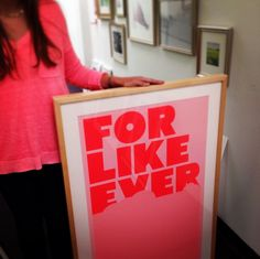 Get this look! — Our Marin frame is perfect for typographic prints — Framebridge