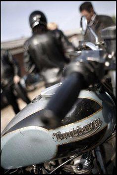 Vintage Biker Sicily    #cafe #motorcycle #Cretins