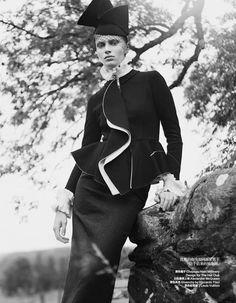 Stephanie Hall for Harper's Bazaar China December 2013