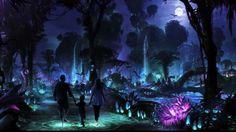 Nova atração da Disney – Pandora -The World of Avatar. #disney #animalkingdom #parqueseingressos