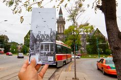 Travelling through time on the Spadina Streetcar Toronto, Canada Scenic Photography, Image Photography, Then And Now Photos, G Photos, Picture Places, Digital Photography School, Downtown Toronto, Canada, University Of Toronto