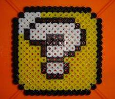 Perler Mario Question Mark Box by ~Flemhead on deviantART