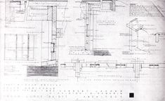 Wright Chat :: View topic - Plans of Jacobs House II Usonian House, Farnsworth House, Frank Lloyd Wright, How To Plan, Architectural Drawings, Architects, Solar, Homes, Unique