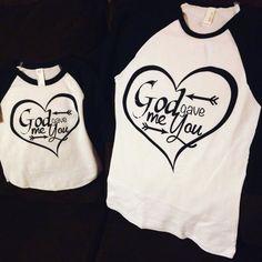 God Gave me you mommy and me baseball tshirts. Send a DM on… Mommy And Me Shirt, Mommy And Son, Mommy And Me Outfits, Family Outfits, Family Shirts, Mom Shirts, Kids Shirts, Cool T Shirts, Baby Shirts