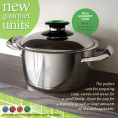 20cm Gourmet High High, Stew, Cookware, The Unit, Cooking, Products, Gourmet, Diy Kitchen Appliances, Kitchen