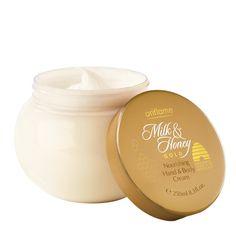 Oriflame: Crema Nutritiva manos y cuerpo Milk & Honey Gold