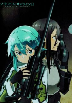 Actually I don't ship Kirito with Asuna instead I ship him with Sinon