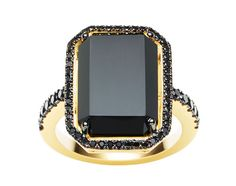 Black Engagement Rings.Black | 黒 | Kuro | Nero | Noir | Preto | Ebony | Sable | Onyx | Charcoal | From Jan Logan