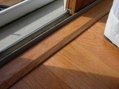 Image result for transition for sliding glass door & Use Transition Strips Under Doors | Tim\u0027s stuff | Pinterest | Doors ...