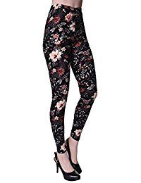 15 Floral Print Pants / Trousers For Girls & Women Grey Leggings Outfit, Best Leggings, Leggings Fashion, Women's Leggings, Ladies Leggings, Cheap Leggings, Floral Print Pants, Floral Leggings, Printed Leggings