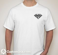 as designed online at http://www.customink.com
