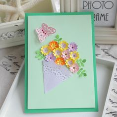 handmade cards for wedding day - Google Search