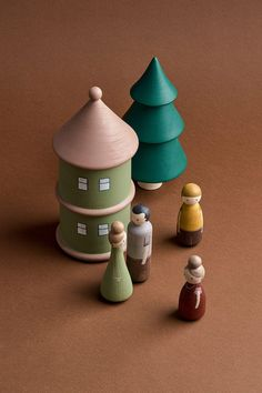 Wooden houses by HappyTreeStore. Imaginative play Woodland nursery decor. Montessori toys Woodland nursery decor Educational Eco-friendly Toys for baby. Montessori wooden toys. Wood toys for kids activity. These wooden houses will make your everyday play with kids a little more magical. Your little ones will go with these toys to the world of their imagination. #babyroom #education