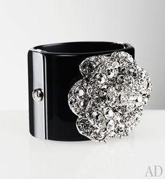 Chanel Camelia cuff