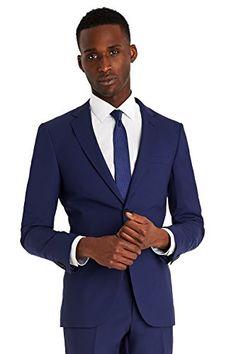 DKNY Men's Slim Fit Bright Blue Suit  http://www.allmenstyle.com/dkny-mens-slim-fit-bright-blue-suit/