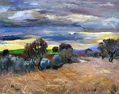 Ramón Vilanova Exposició actual Galeria d'art L'arcada Ramones, Spain, Museum, Clouds, Sky, Cottages, Artwork, Landscapes, Houses
