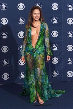J-Lo. Versace. 2000. #NeverForget #GRAMMYs