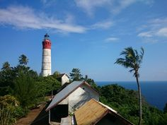 Willem's Toren Lighthouse, Pulau Breuh. Aceh-Indonesia