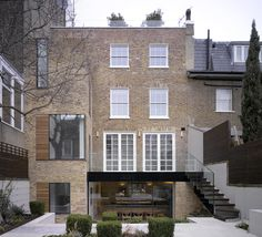 Lateral Home: A Modern House Extension in London - House Hill Tozer - Patio Roof Extension Ideas, Extension Veranda, Rear Extension, Extension Google, Glass Extension, Home Design, Residential Architecture, Architecture Design, London House