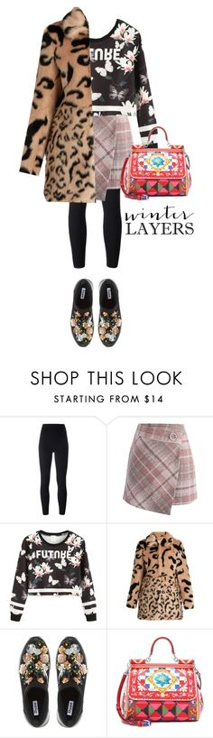"""""""pattern"""" by strngrrr ❤ liked on Polyvore featuring adidas Originals, Chicwish, Dune and Dolce&Gabbana"""