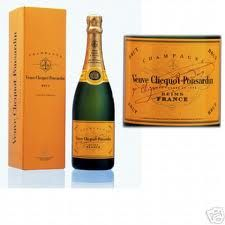 Veuve Clicquot Yellow Label. Apparently hailed as the first 'modern' champagne due to the advancements the company made in champagne proudction techniques.