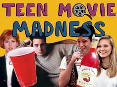 Get ready for your new favorite sports-unrelated bracket this March, as 65 teen movie classics go head-to-head. Teen Movies, Movie Tv, Movie Drinking Games, Drunk Games, Crazy Games, Teen Programs, Faia, Girls Night Out, 21st Birthday