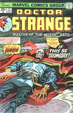 "Doctor Strange vol. 2 #12, ""Final Curtain!"" (February, 1976)."