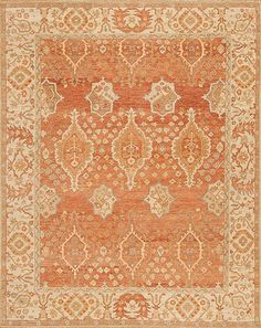 Caspian - Astara - Samad - Hand Made Carpets Transitional Rugs, Home Rugs, Hand Spinning, Furniture Styles, Clay, Carpets, Weaving, Orange Rugs, Texture