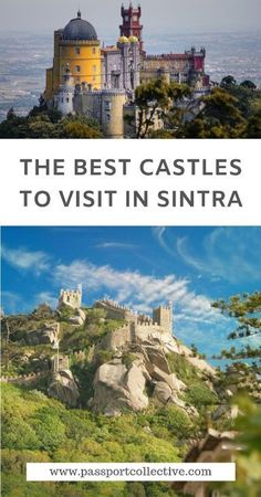 The best castles to visit in Sintra, Portugal Sintra castles are some of the most beautiful castles Europe Travel Guide, France Travel, Travel Destinations, Italy Travel, Travel Guides, Spain And Portugal, Portugal Travel, European Destination, European Travel