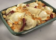 Pierogie Casserole - dinner tomorrow, with bacon and cheddar b/c that's what we have in the fridge