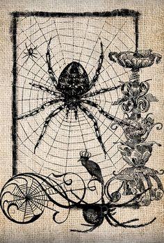 Spooky illustration