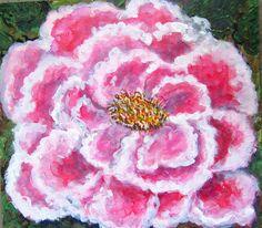 GALERIA PALOMO MARIA LUISA: ROSA.... Flowers, Plants, Pink, Painted Flowers, Florals, Planters, Flower, Blossoms, Plant
