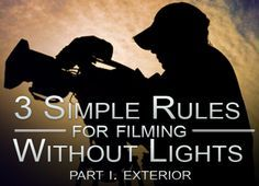 More Share Options… I often get asked about lighting techniques for Film and TV. Whether you're lighting a simple interview for a TV documentary or organising a big lighting set-up for …