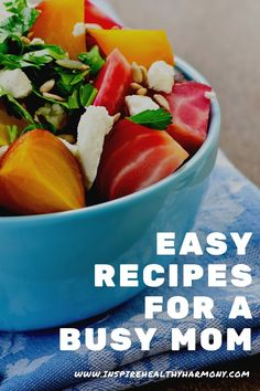 Healthy, delicious recipes for your family. Easy recipes for a busy mom. Recipes for a busy family. Dinner recipes. Lunch recipes. Breakfast recipes. Healthy harmony. How to eat healthy. How to make healthy recipes. Simple recipes. Feeding the family. Mom tips. Healthy habits.
