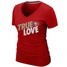Nike San Francisco 49ers Ladies True Love Premium T-Shirt