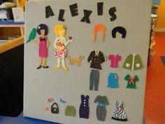 From Dahlias to Doxies: DIY Felt Dress Up Dolls