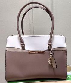 63d24e387 Guess CAMPTON Logo COLOR-BLOCK Oversized Handbag Party Work Multicolor  Neutral | eBay #oversizedhandbags