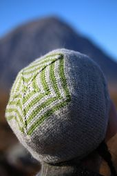 Ravelry: Bunnet (Striped) pattern by Kate Davies