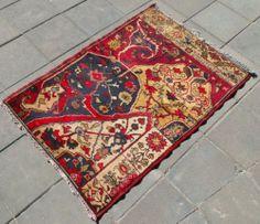 Vintage Turkish Rug x Hand Woven Wool Taspinar Kilim Carpet x Turkish Carpets, Turkish Kilim Rugs, Wool Area Rugs, Bohemian Rug, Hand Weaving, Ebay, Vintage, Hand Knitting, Wool Carpet