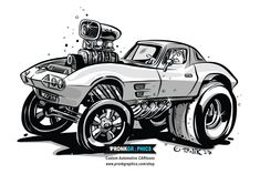 Image result for corvette cartoon