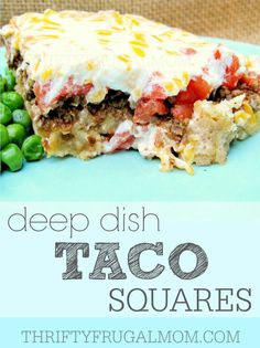 Sour cream, cheese, tomatoes and taco meat layered on top of a tasty crust make this delicious dish a big hit with the whole family! You'll love how easy it is to make too!
