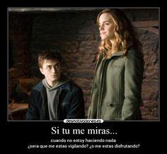 el amor de harry y hermione: