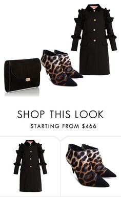 """Untitled #519"" by kame-i ❤ liked on Polyvore featuring Gucci, Giuseppe Zanotti and Mansur Gavriel"